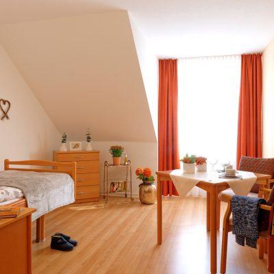 Ein Pflegezimmer
